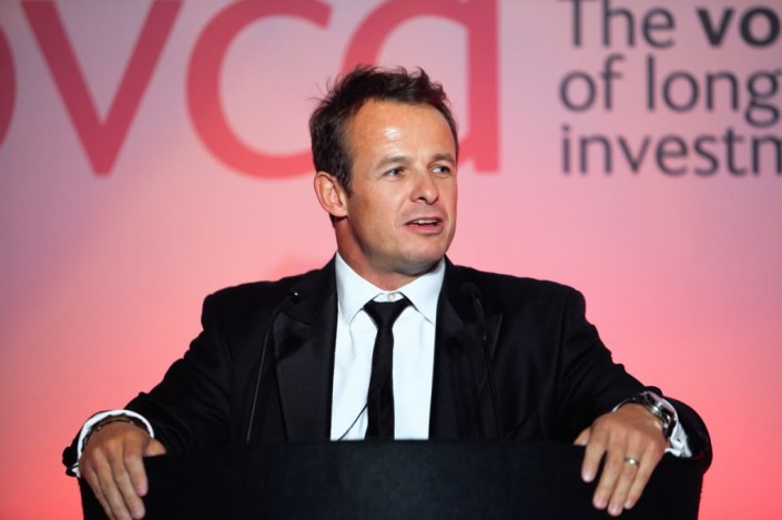 Austin Healey after dinner speaker at black tie event at the Hilton Manchester