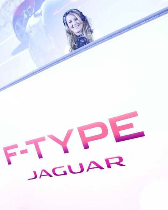 DJ F Type Jag launch