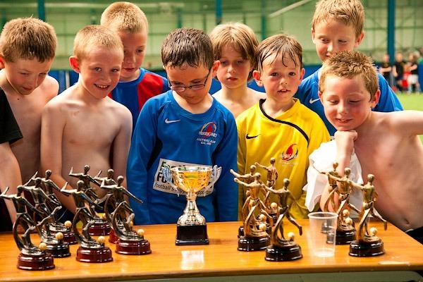 Boys five a side football powerleague manchester