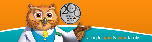 rowlands pharmacy branding