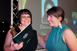 Rowlands Pre registered pharmacist of the year 2011 Danielle Watt