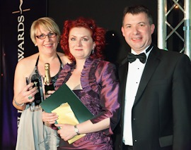 Rowlands Pharmacy area manager of the year 2011 Debby Crockford