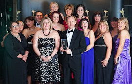 Rowlands Head office department of the year  2011 locum board