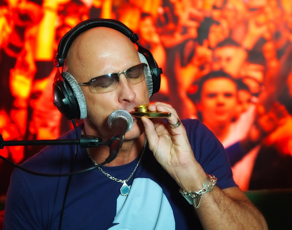 Right said fred Richard Fairbrass performing at capital radio