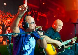 right said fred performing accoustic at capital radio manchester part of 2011 tour
