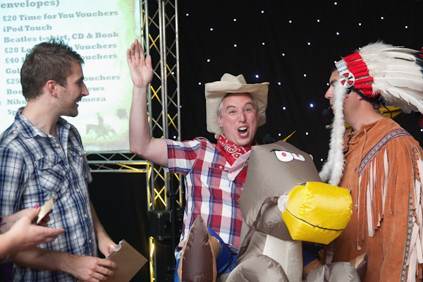 cowboy and indian fancy dress ball