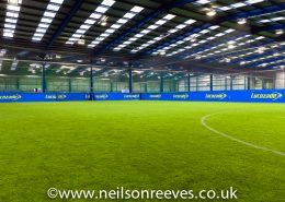 commercial photography football pitches in the power league trafford manchester