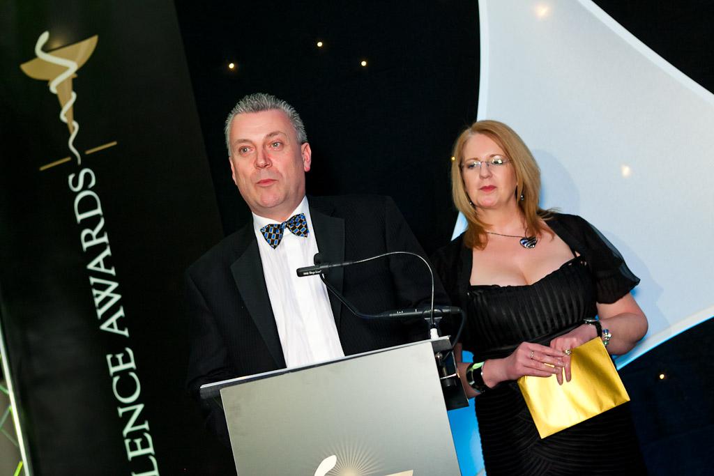 Neil Topping & Angela Langley, Pfizer