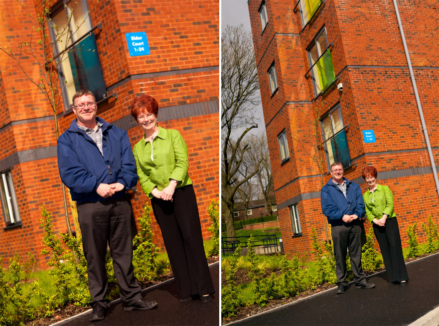 hazel blears visits affinity sutton community project salford