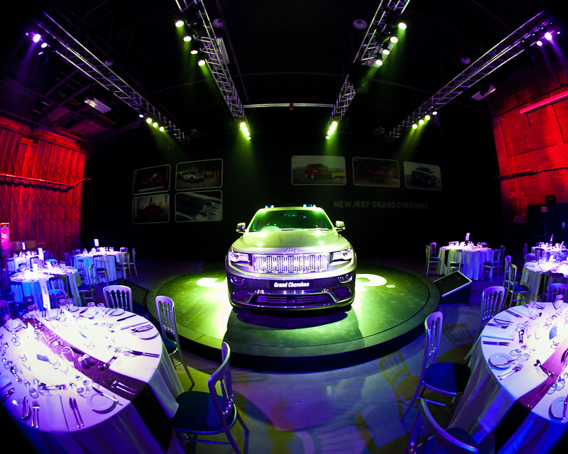 Launch Event Jeep Grand Cherokee Victoria Warehouse Manchester