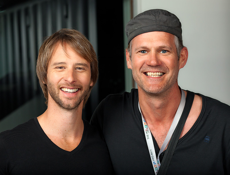 Chesney Hawkes and Photographer Colin Boulter
