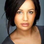 Actor headshot female asian looking skin