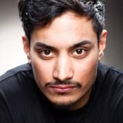 Actor headshot wass javed Wass is a kashmiri Actor