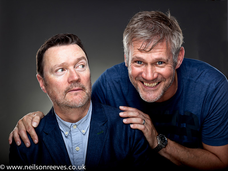 Ian Puleston-Davies and colin boulter