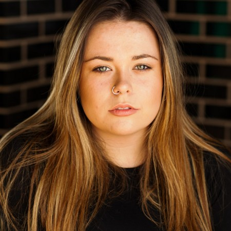 Actor headshot featuring Megan Hobday