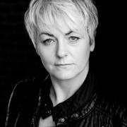 Actor headshot Lorraine Dallas in Black and white