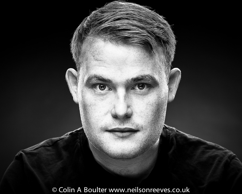 Mike Coombes actor headshot