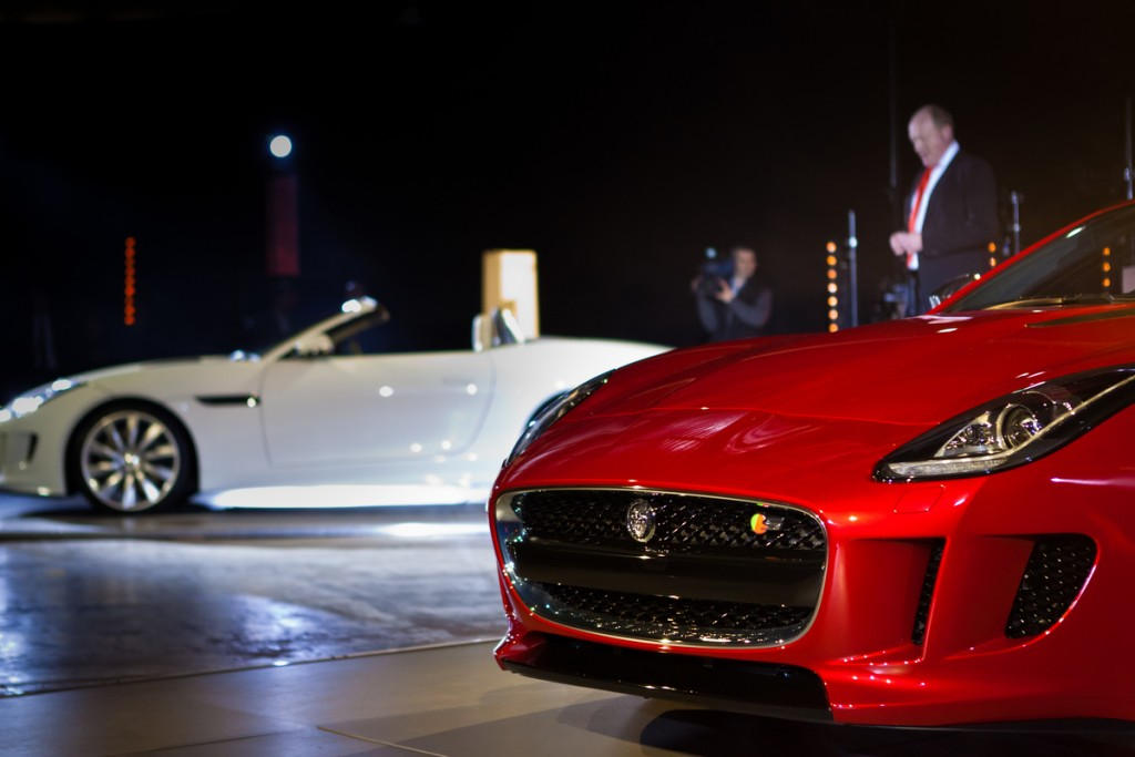 new car launches eventsLaunch Event photography new FType Jaguar  Neilson Reeves