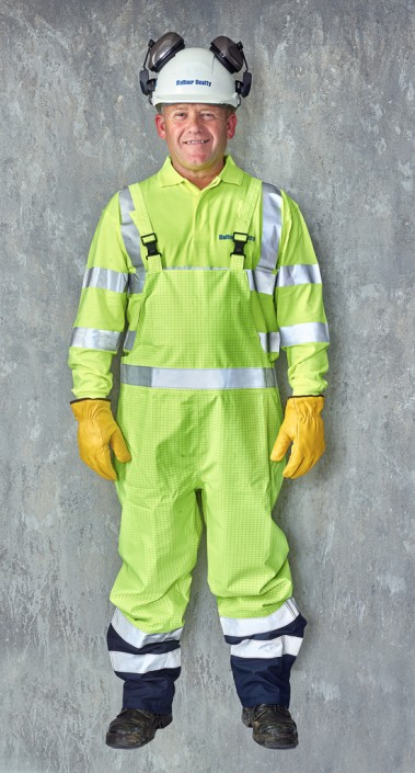 portraits of people in personal protective equipment